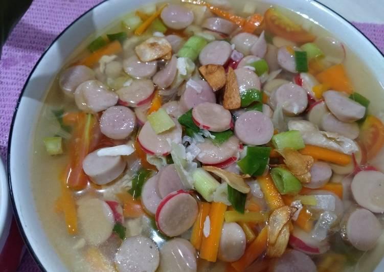 Sop Ayam Sosis