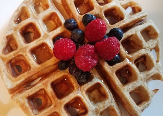 Recipe: Delicious California Whole Grain Waffles/ Pancakes