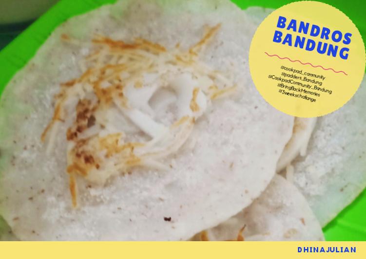 Resep Bandros Bandung Keju simple (tanpa cetakan) yang Bisa Manjain Lidah