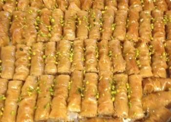 How to Recipe Yummy Lebanese Finger Baklava