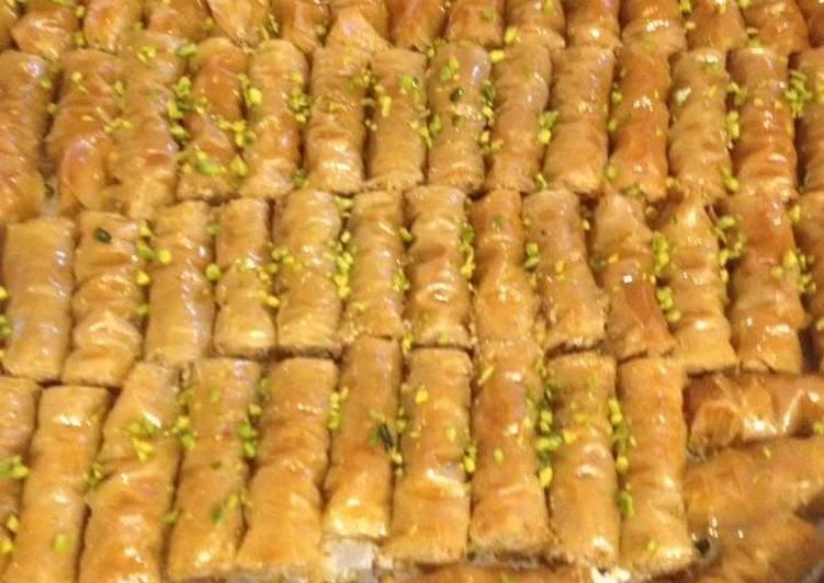 Lebanese Finger Baklava