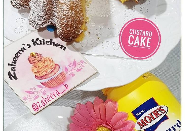 Easiest Way to Prepare Ultimate Custard cake
