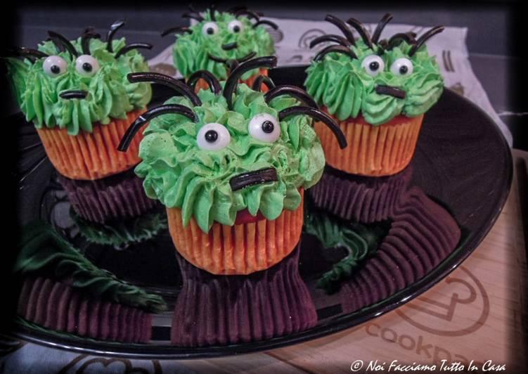 Ricetta Halloween Cupcakes