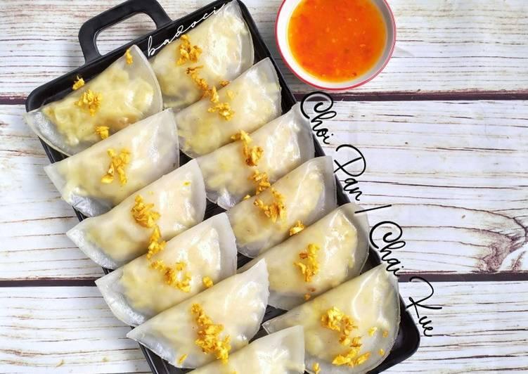 Choipan / chai kue (khas pontianak)