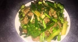 Hình ảnh món Thịt bò xào bông cải xanh