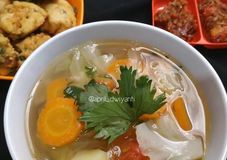 7 Resep: Sayur sop simpel Anti Ribet!