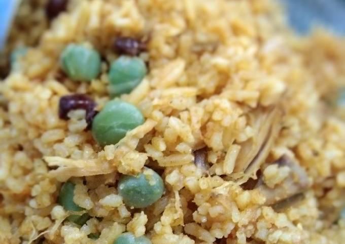 Nasi Minyak Kari Ayam Adabi