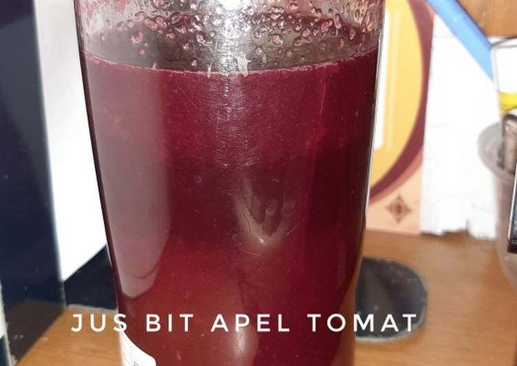 Jus bit, apel, tomat