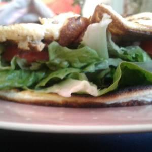 Sándwich sin harina