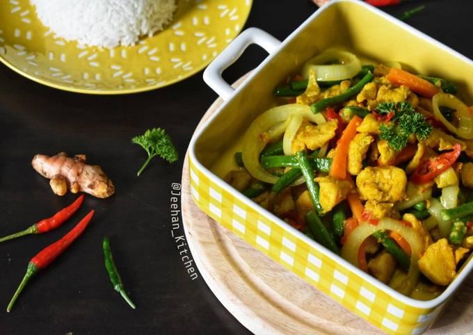 Ayam Goreng Kunyit Ala Thai