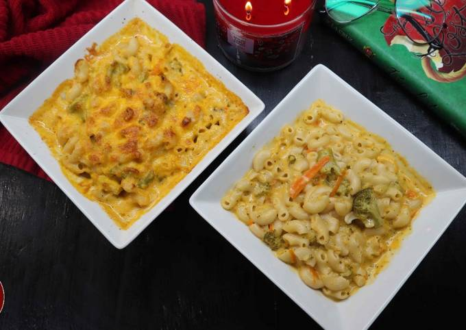 Broccoli Cheddar Mac and Cheese