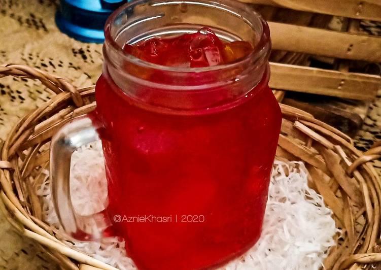 Strawberry Nata de Coco - resepipouler.com
