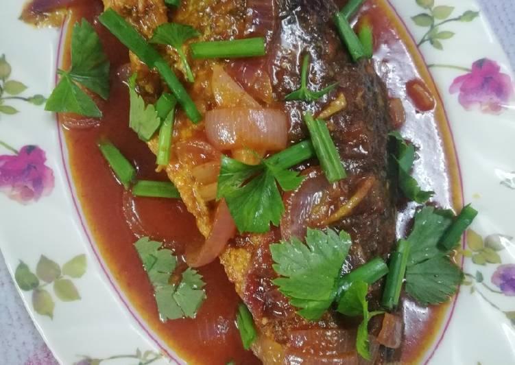 Sweet Sour Ikan Rohu