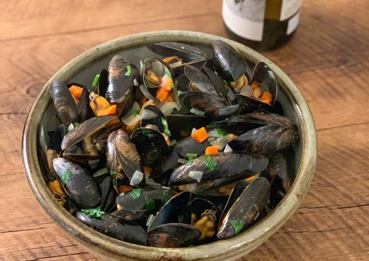My love of Mussels❤ - with butter sauce