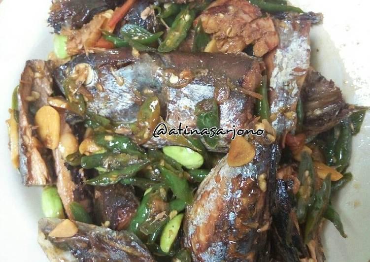 Cabe Hijau Ikan Tongkol/Pindang/Cuwe'