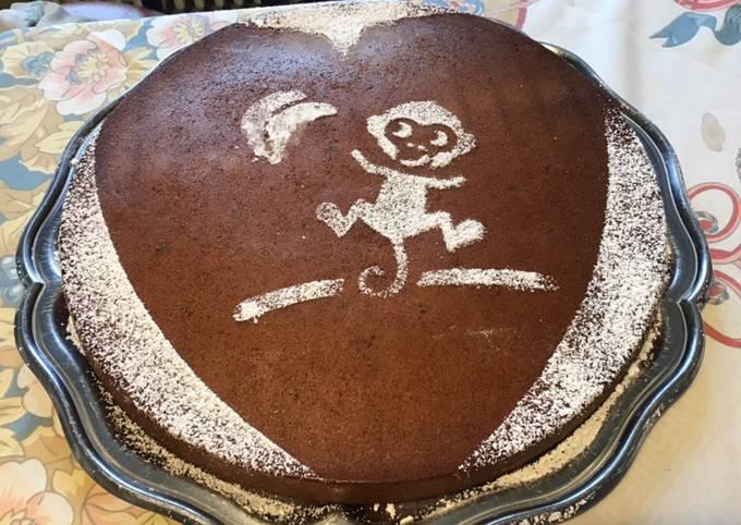 Gâteau crème de châtaignes et vanille