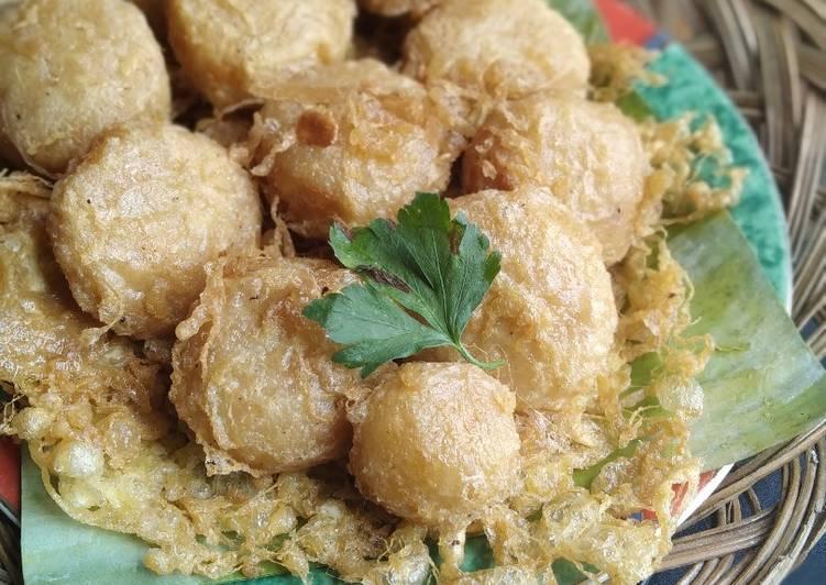 Perkedel kentang & tips tidak hancur