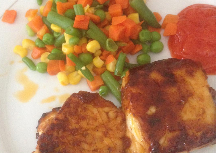 Resep Steak Ikan Gindara That S Easy Oleh Avriel Cookpad