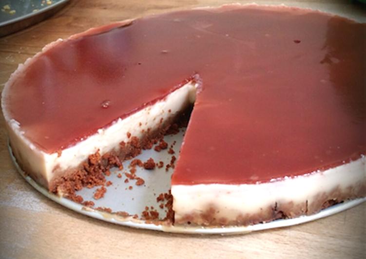 Gâteau au lait de soja et fruits rouges