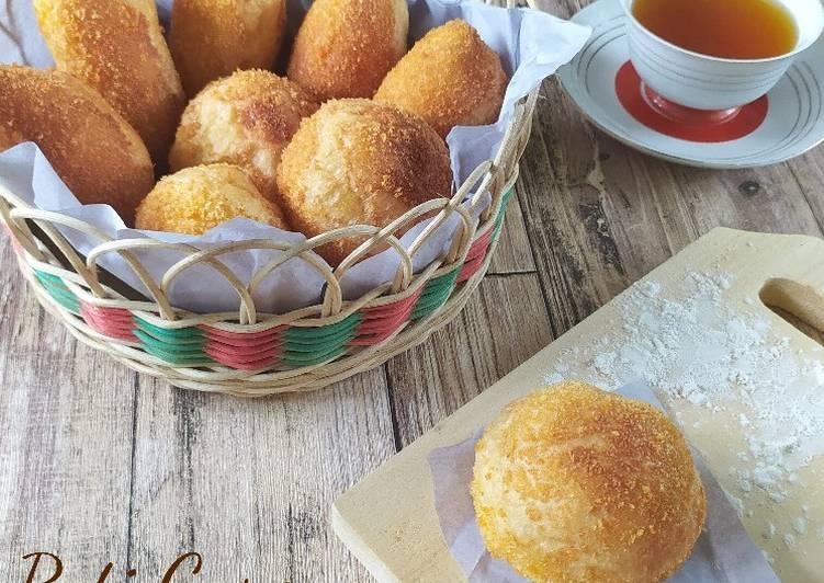 Langkah Mudah Membuat Roti Goreng (metode autolisis, 1x proofing)…