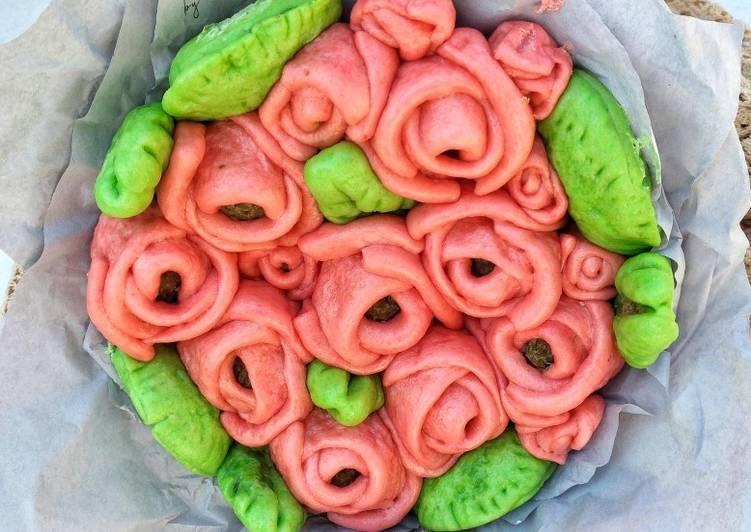 Resep Rose pao (bapao mawar) Terbaik