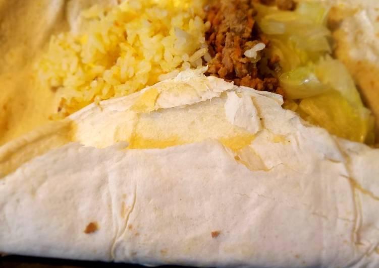 Burrito con todo