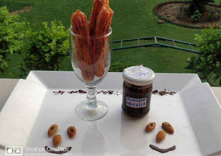 Easiest Way to Prepare Ultimate Eggless cinnamon Churros