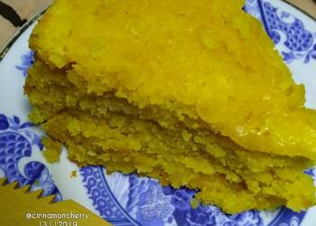 Easiest Way to Make Perfect Depression Mango Cake Baked in Rice Cooker No Eggs No Milk