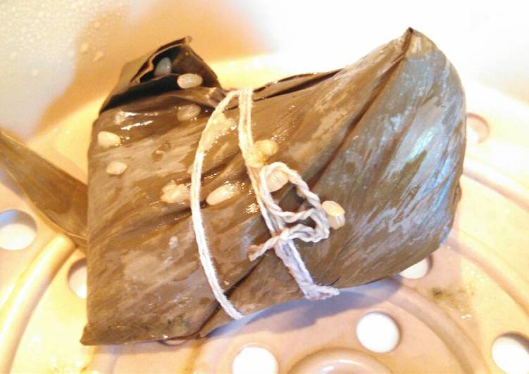 Sprouted Sweet brown rice Zongzi 100% whole grain 全谷物粽子