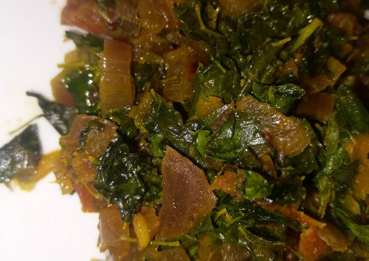 Recipe of Homemade Drumsticks leaves curry