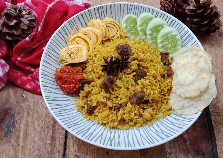Resep Nasi Kebuli Sapi Magic Com Oleh Michico Octavian Cookpad