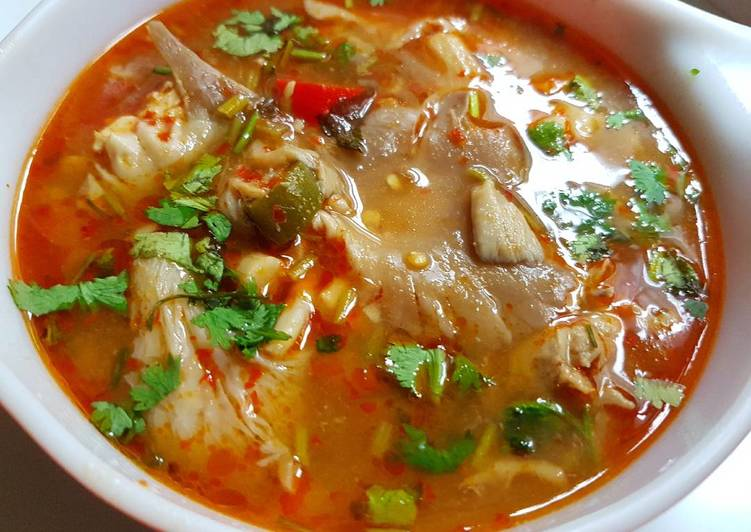 25 Minute Easiest Way to Prepare Ultimate Tom Yam Gung - Thai Spicy and Sour Soup