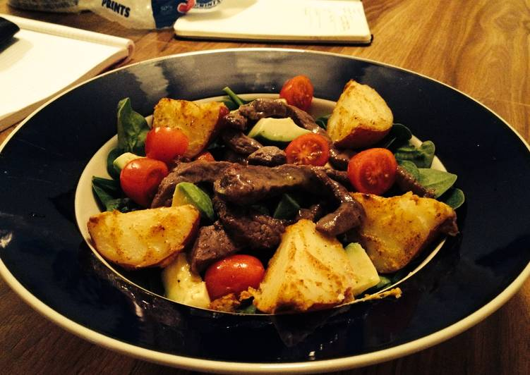 Steak & Potato Salad, Coconut Oil Is A Great Product And Can Also Be Advantageous For Your Health