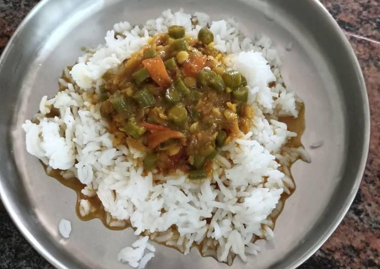 5 Minute Recipe of Award Winning Beans sambar