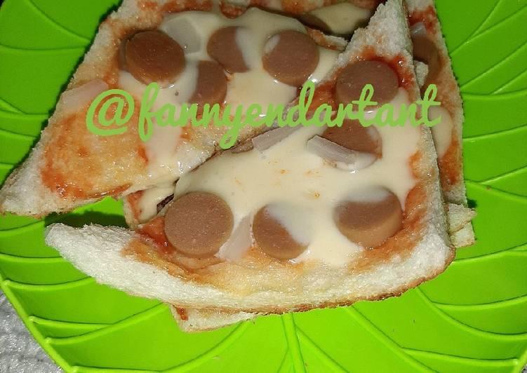 Resep Pizza Roti Tawar Tanpa Oven