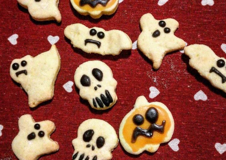 Ricetta Biscottini senza glutine per halloween