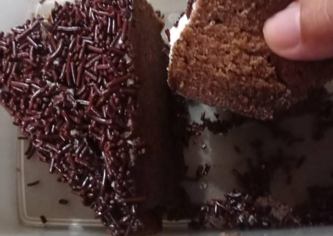 Brownies kukus choco drink