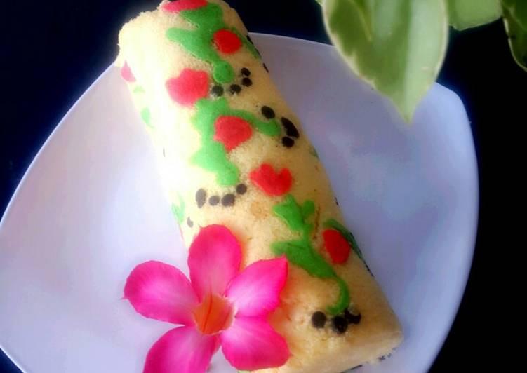 Resep Japanes Roll Cake Aka Bolu Gulung Kukus Jepang yang Bikin Ngiler
