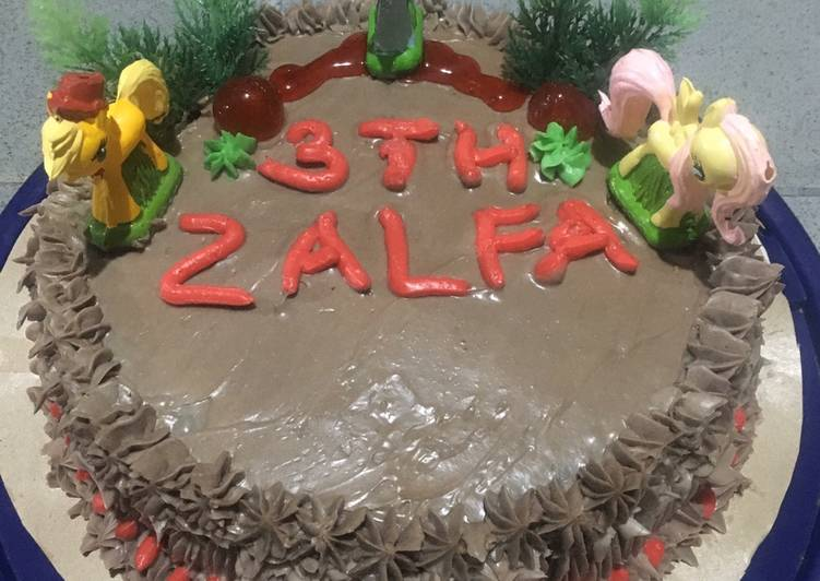 Resep Brownies base cake tart Bikin Ngiler
