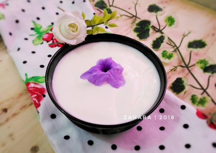 Homemade Yogurt Plain #KamisManis