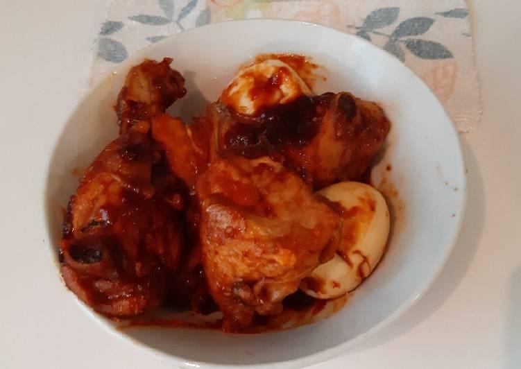 Ayam goreng pedas ala saya