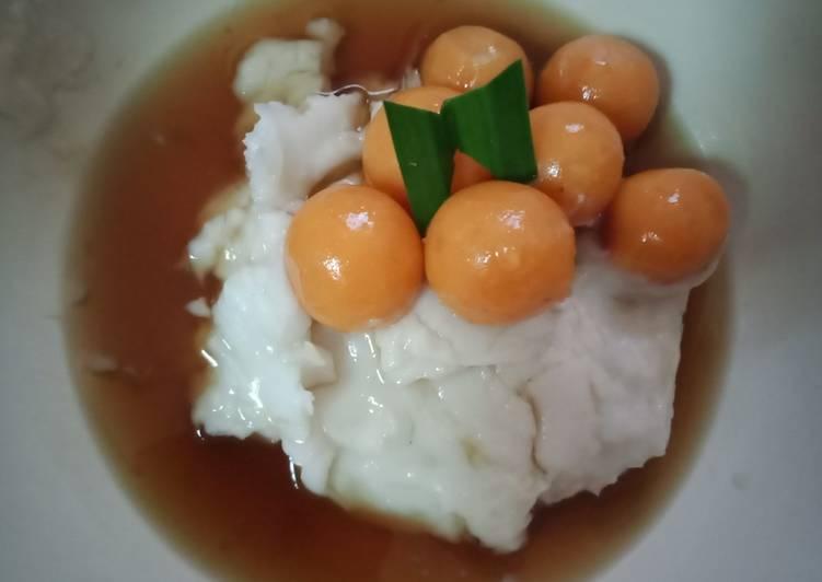 Bubur sum-sum candil ubi merah by amma lidia