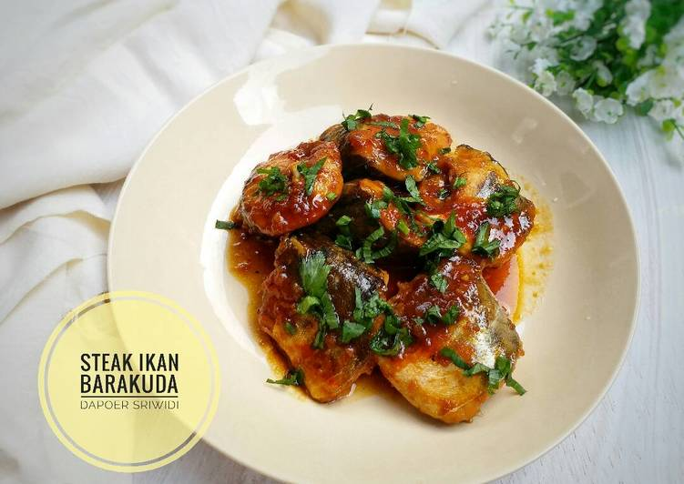 Steak ikan barakuda