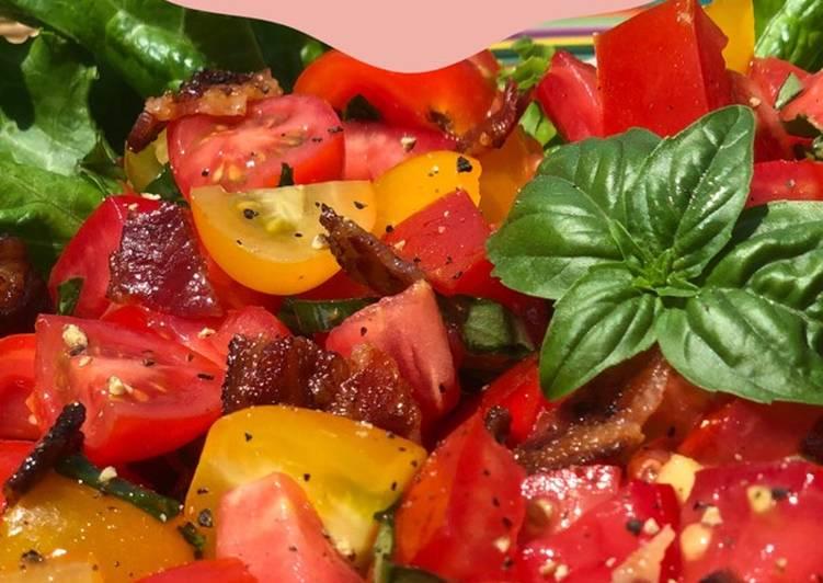 Chopped BLT salad. Gluten free& guilt free