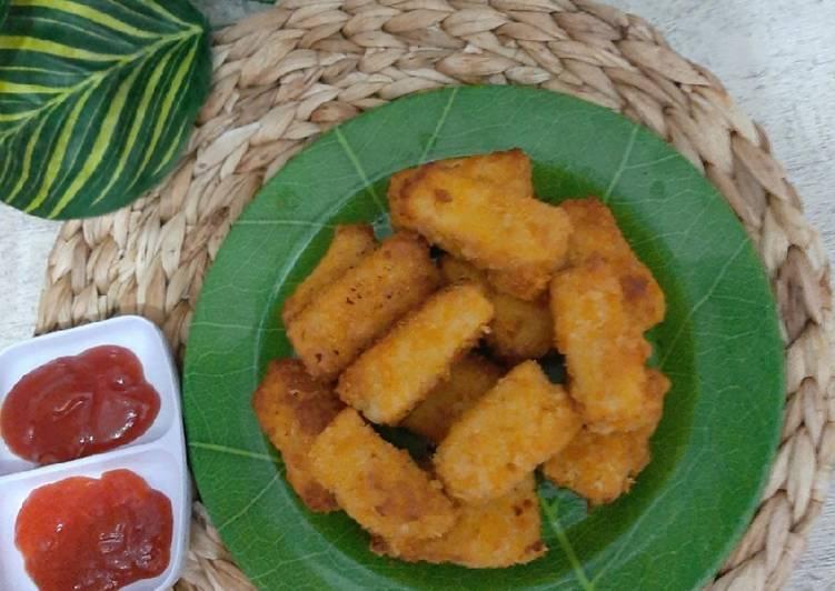 Bagaimana Menyiapkan Nugget ayam homemade Anti Gagal