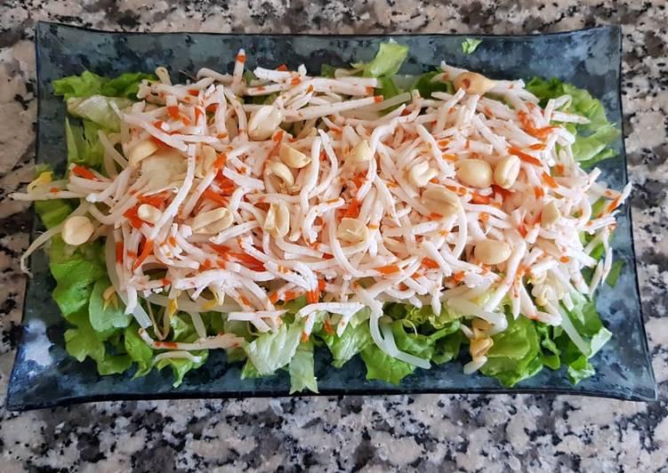 Comment Cuisiner Délicieux Salade chinoise