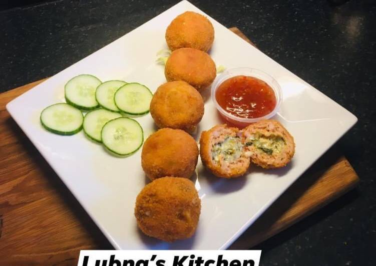 Easiest Way to Make Super Quick Homemade ChickenKiev balls: