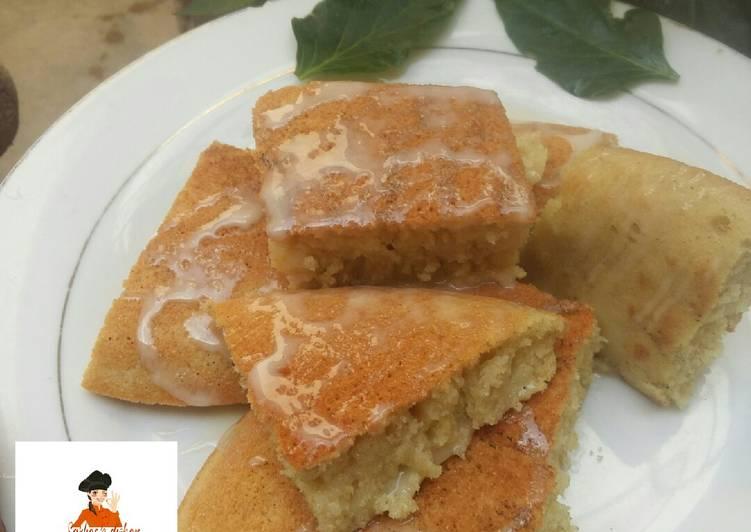 My simple Basbousa cake