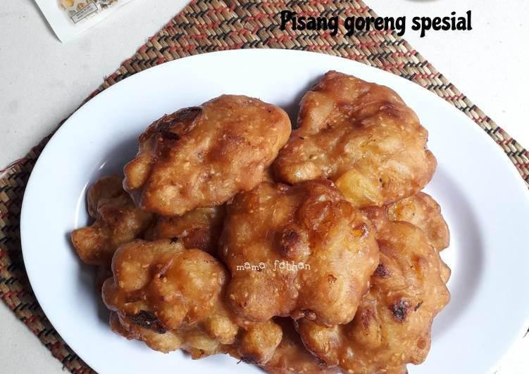 Pisang goreng spesial