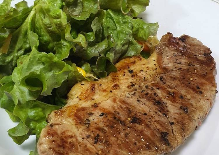 7mins sirloin steak healthy